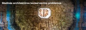 Medines architekturos konervavimas