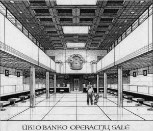 Ukio bankas_1990_m