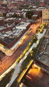 5. High Line New Yorkas